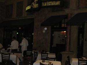 Palm Restaurant – Las Vegas