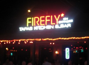 Firefly on Paradise