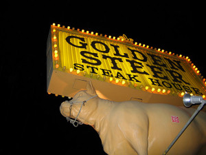 Golden Steer Steak House LV