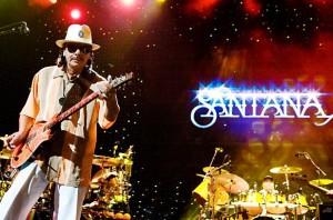 Carlos Santana Las Vegas, Santana