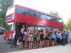 Bachelor Party Bus Transportation