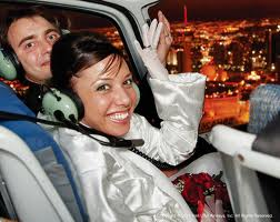 Cupid's Night Flight Helicopter Wedding Ceremony