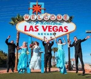 Las Vegas Wedding At A Special Memory Wedding Chapel